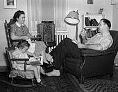 poster   1930s 40s family