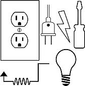Electrical Clip Art Royalty Free 57851 Clipart Vector