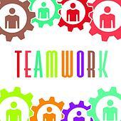 Team Huddle Clip Art - Royalty Free - GoGraph |Team Huddle Clipart