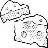Käse clipart schwarz weiß  Swiss cheese Clip Art and Illustration. 1,306 swiss cheese clipart ...