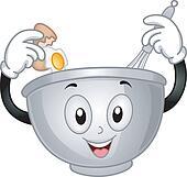 Mixing bowl Clipart Vector Graphics. 1,067 mixing bowl EPS ...