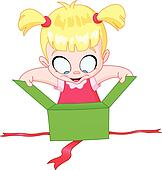 open present clipart. open christmas gift box present clipart l