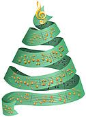 Christmas music note Illustrations and Stock Art. 375 christmas ...