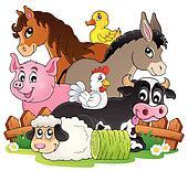Baby Farm Animals Clip Art farm animals clip art illustrations. 39,139 farm animals clipart