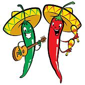 Image result for clipart of chili peppers