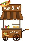 Street vendor Clipart and Illustration. 414 street vendor ...