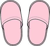 Slippers Clip Art and Illustration. 5,000 slippers clipart vector ...