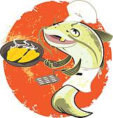 Fish Clip Art EPS Images. 76,420 fish clipart vector illustrations ...