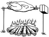 Roast Stock Illustrations. 4,060 roast clip art images and royalty ...