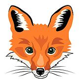 Fox clipart and illustrations
