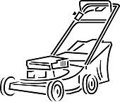 Watch more like Lawn Mower Clip Art Black And White